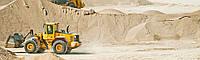 Песок кварцевый обогащенный карьерный, вагон,  с доставкой