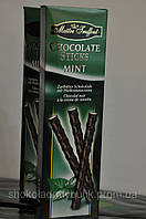 Шоколадные мятные палочки  Maitre Truffout Chocolate Sticks Mint