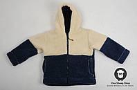 Детская толстовка из овчины, тёплый детский свитер, курточка из овечьей шерсти