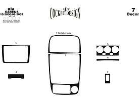 Декоративные накладки панели (2000-2002) к Kia Carens