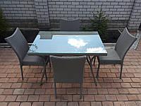 Комплект мебели с ротанга
