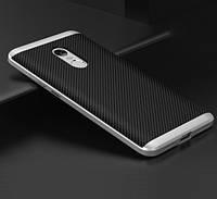 Чехол с серебряной рамкой на Xiaomi Redmi Note 4X