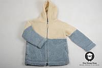 Курточка из овечьей шерсти, детская толстовка из овчины, тёплый детский свитер,