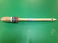 Пензель круглий універсальний деревяна ручка Бригадир Standart 25мм