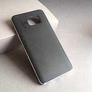 Чехол с серебряной рамкой на Samsung Galaxy Note 5