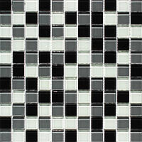 Мозаика Vivacer Микс Прозрачное стекло MixC010 30x30/2.5x2.5