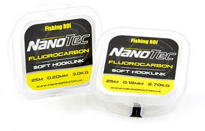 Флюорокарбон Fishing ROI NanoTec 0,16мм 2,0кг 25м (63-01-016)
