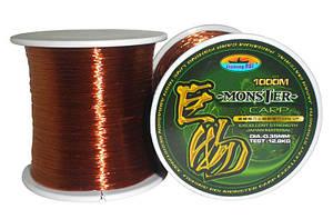 Леска Fishing ROI Carp Line 0.35mm 1000m 12.83kg (brown) (10010-035)