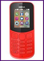 Телефон Nokia 130 Dual Sim (RED). Гарантия в Украине 1 год!