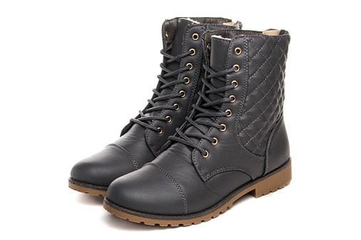 Жіночі черевики Baolikang Classic 36 Grey, фото 2