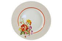 Тарелка обеденная белая Imari Розалинда 26 см