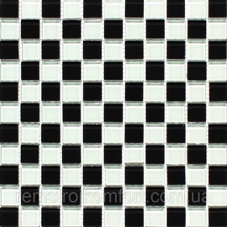 Мозаика Vivacer Микс Прозрачное стекло MixC013 30x30/2.5x2.5