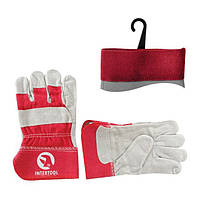 Перчатка замшевая INTERTOOL SP-0152
