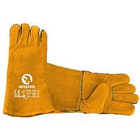 Перчатка замшевая INTERTOOL SP-0157