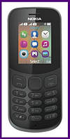 Телефон Nokia 130 Dual Sim New (BLACK). Гарантия в Украине 1 год!