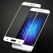 Защитное стекло Full Cover на Xiaomi Mi 5 Белое
