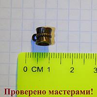 Держатель для кулона 0,9 см (с петелькой) бронза 1 шт.