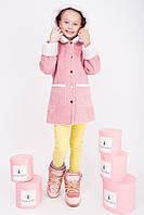 Акция!! Дубленка для девочки DZ1, цвет розовый