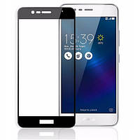 Защитное стекло Full Cover на Asus Zenfone 3 Max ZC520TL Черное
