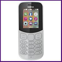Телефон Nokia 130 Dual Sim New (GREY). Гарантия в Украине 1 год!