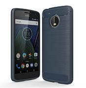 Чехол на Moto G5+ Plus Синий