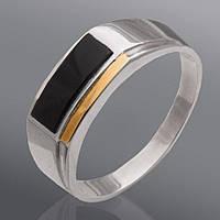 Мужской перстень  Юрьев с ониксом  187к