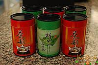 Баночки для чая и прочих сыпучих из плотного картона с жестяным дном и крышкой 50 г