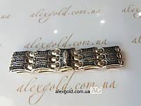 Серебряный браслет мужской Cartier