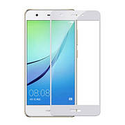 Защитное стекло  Huawei Nova lite 2017  Белое