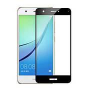 Защитное стекло Full Cover на Huawei Nova lite 2017 Черное