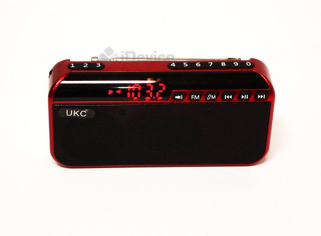 Радиоприёмник UKC U188 USB, SD, фонарик