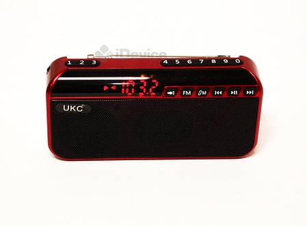 Радиоприёмник UKC U188 USB, SD, фонарик, фото 2
