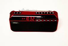 Радиоприёмник UKC U188 USB, SD, фонарик, фото 3