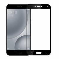 Защитное стекло Full Cover на Xiaomi Mi 5c Черное