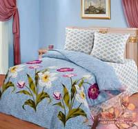 Комплект постельно белья ТМ Романтика (евро, полуторный, двойной, семейный, постельное белье, бязь, хлопок)