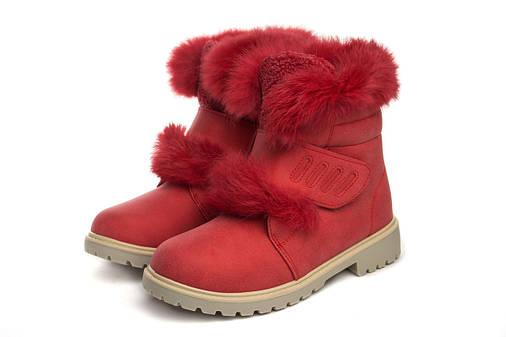 Ботинки женские New TLCK rab. red 38, фото 2
