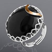 Кольцо с ониксом Юрьев 79к