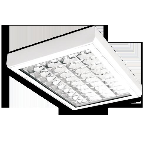 Светильник люминесцентный HOUND4-418-K, 4x18W,  IP65
