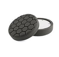 """HL660 150 мм (6,0"""") 35 мм. Полировальный круг (6 гран.) мягкий, черный - Flexipads PRO-Detail"""
