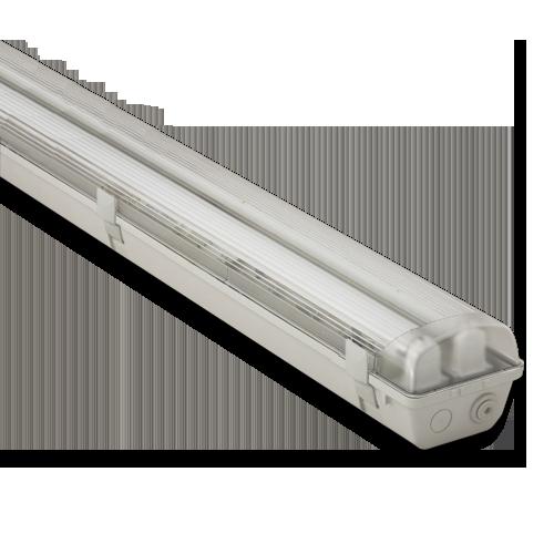 Светильник люминесцентный в/з ATOM 746 2х36W  IP65 под лампу T8 C ЭПРА и пластиковыми пряжками