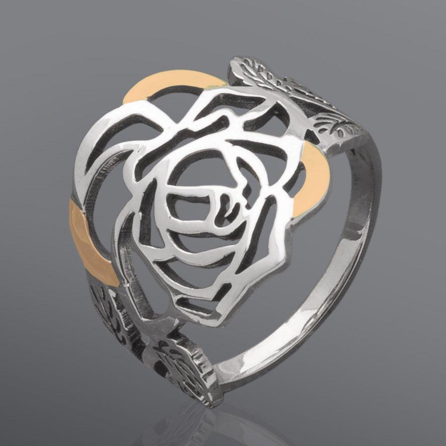 Женское кольцо Юрьев 233к 17.5