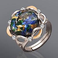 Женское кольцо с опалом Юрьев 39к