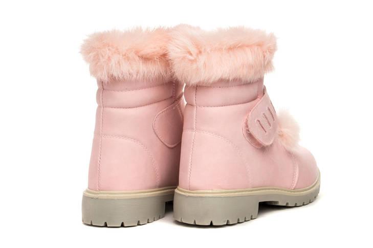 Ботинки женские New TLCK women pink 37, фото 2