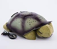 Светильник звездное небо — Черепаха темно-зеленая, фото 1
