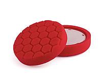 """HL680 150 мм (6,0"""") 35 мм. Полировальный круг (6 гран.) ультра мягкий, красный - Flexipads PRO-Detail"""