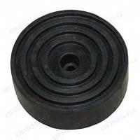 Резиновая накладка для домкрата TH33007 (D122мм,толщина 31мм)