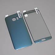Защитная пленка 3D на Samsung S7 Edge Front+Back Blue