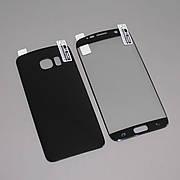 Защитная пленка 3D на Samsung S7 Edge Front+Back Black