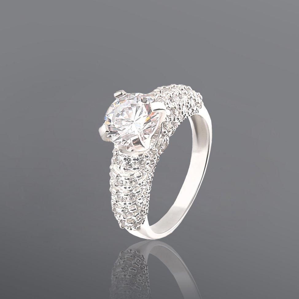 Серебряное кольцо Юрьев 270к