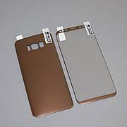 Защитная пленка 3D на Samsung S8 Front+Back Gold-Rose